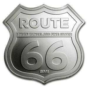 ルート66シルバーバー 1オンス  シールド (オクラホマ州)