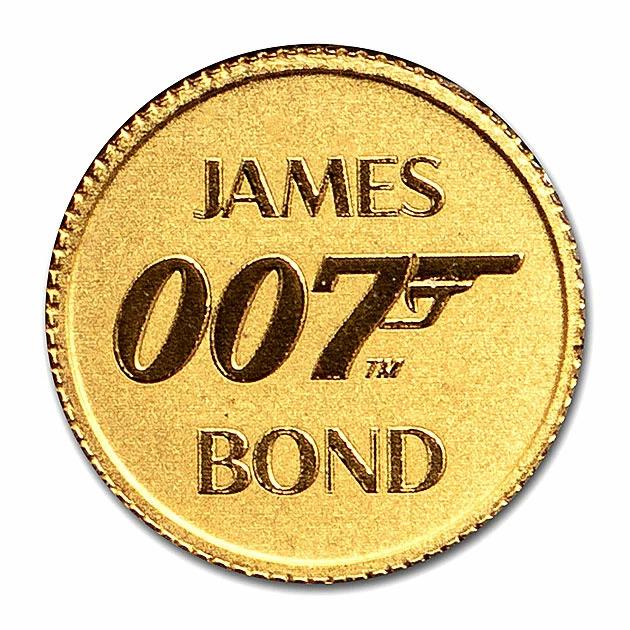 007 ジェームズ・ボンド金貨 1/2グラム