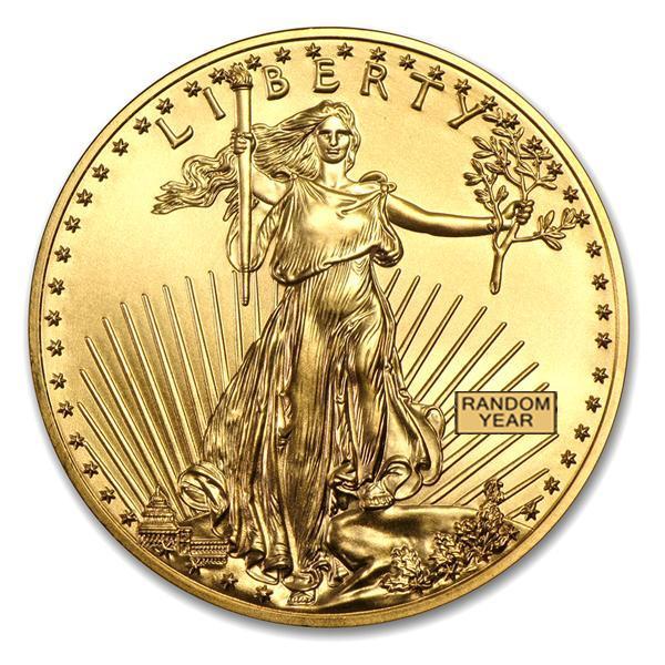 イーグル金貨 1/4オンス クリアケース入り (ランダム・イヤー)  アメリカ造幣局発行 保証書付き