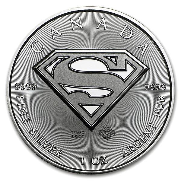 スーパーマン銀貨 1オンス 2016年製