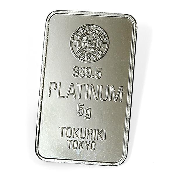 TOKURIKI (徳力) プラチナバー 5g