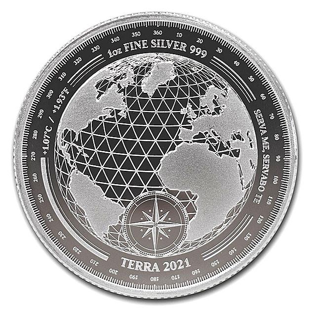 【父の日セール!】テラ銀貨 1オンス 2021年製