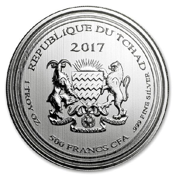 スコーピオン銀貨 1オンス 2017年