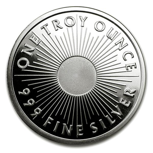 サンシャインミント銀貨 1オンス