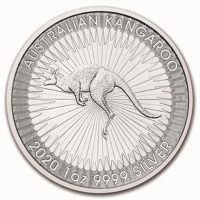 カンガルー銀貨 1オンス ランダム・イヤー