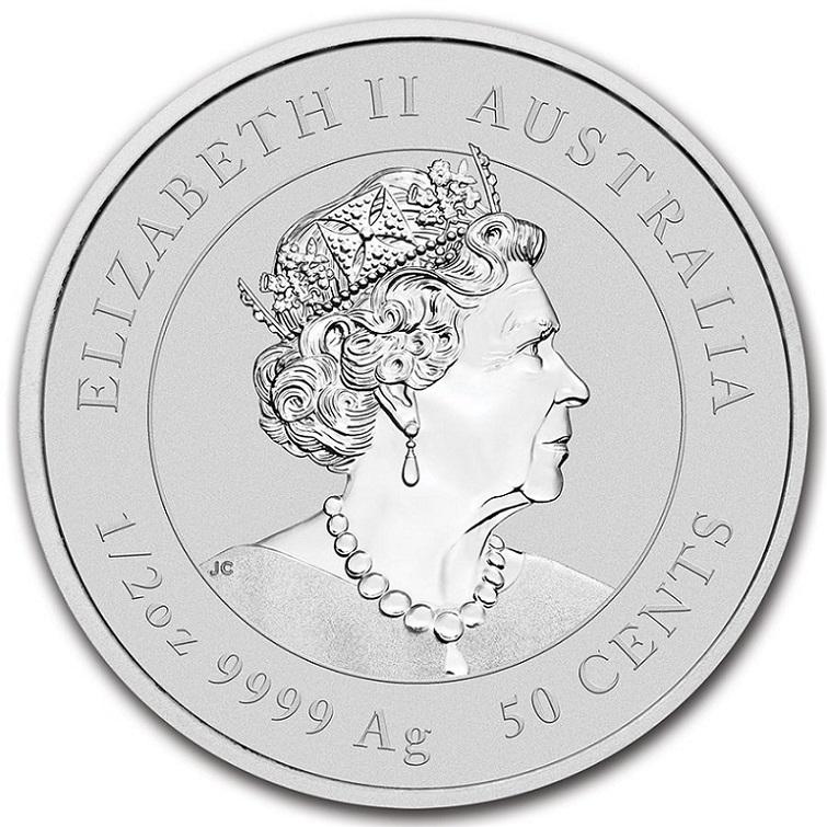 干支丑銀貨 1/2オンス  2021年製 オーストラリアパース造幣局発行