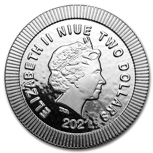 フクロウ銀貨 1オンス 2021年製