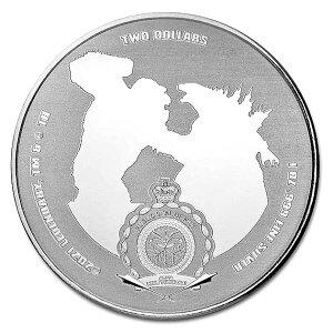 「ゴジラvsコング」 ゴジラvsコング銀貨 1オンス カラー 2021年製 ブリスターパック入り