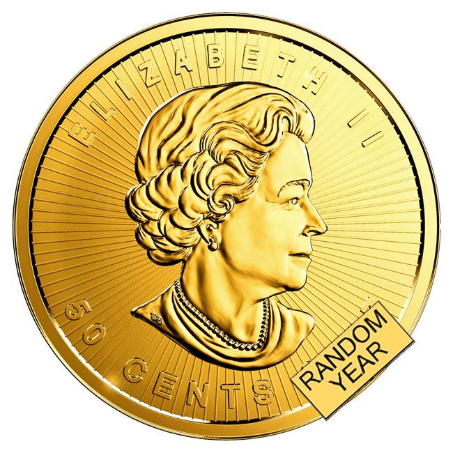 メイプル金貨 1g ランダム・イヤー