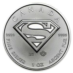 【新品・訳あり】スーパーマン銀貨 1オンス