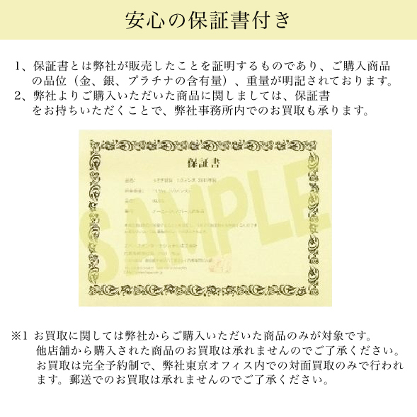 クルーガーランド金貨 1/10オンス クリアケース入り ランダム・イヤー