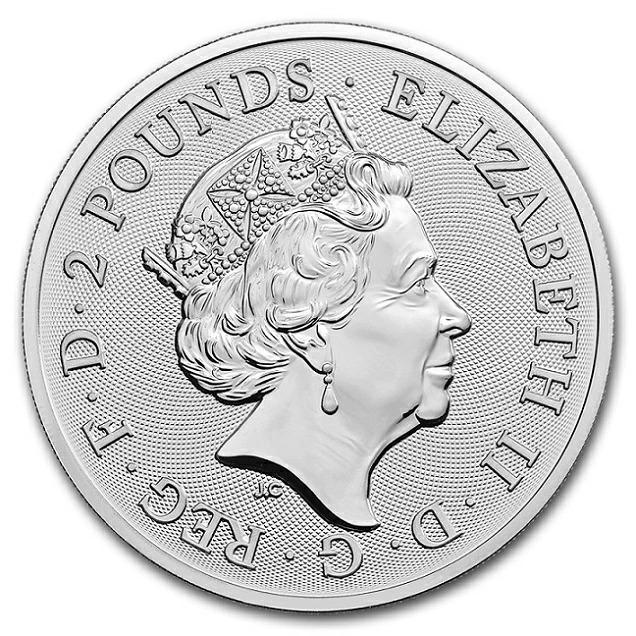 イギリス ロイヤル アームズ銀貨 1オンス