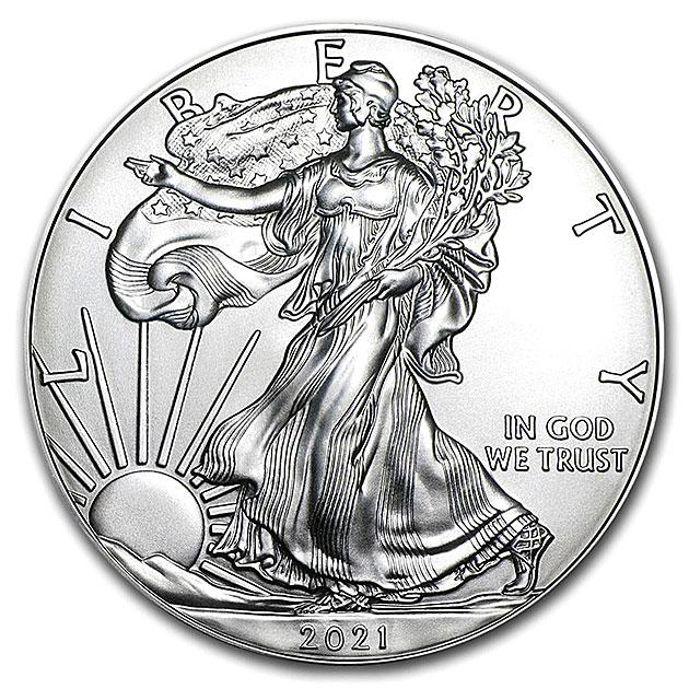 イーグル銀貨 1オンス 2021年製