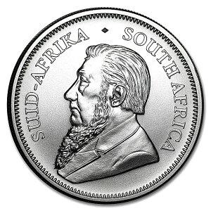★純銀セット★ クルーガーランド銀貨 1オンス 2021年製 +カンガルー銀貨 1オンス 2021年製