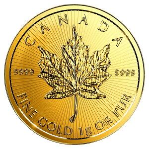 《金・銀セット》 メイプル金貨 1g + メイプル銀貨 1オンス ランダムイヤー