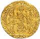 アンティークコイン フランス シャルル5世 (1364-1380年) ゴールドフラン ウォーク MS63 PCGS