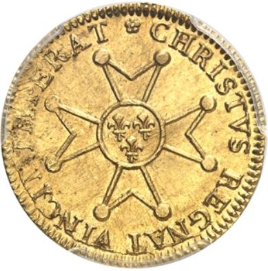 【動画あり】フランス ルイ15世 1718-A パリ ルイドール金貨 PCGS-MS62