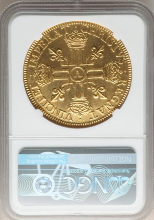 フランス1640A年ルイ13世10ルイドール金貨NGC-MS65