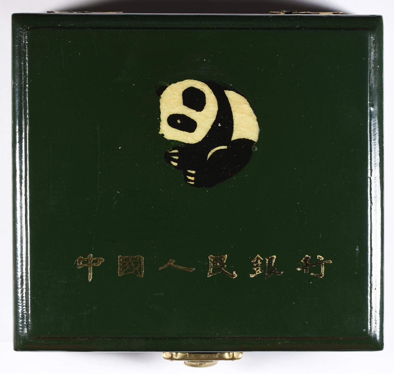 【動画あり】1988年中国 500元パンダ金貨 5オンス(155.5グラム)NGC PF69UCAM