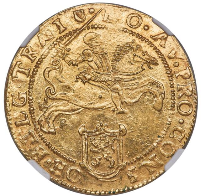 オランダ 1618年 ユトレヒト キャバリエ・ドール金貨 NGC MS63