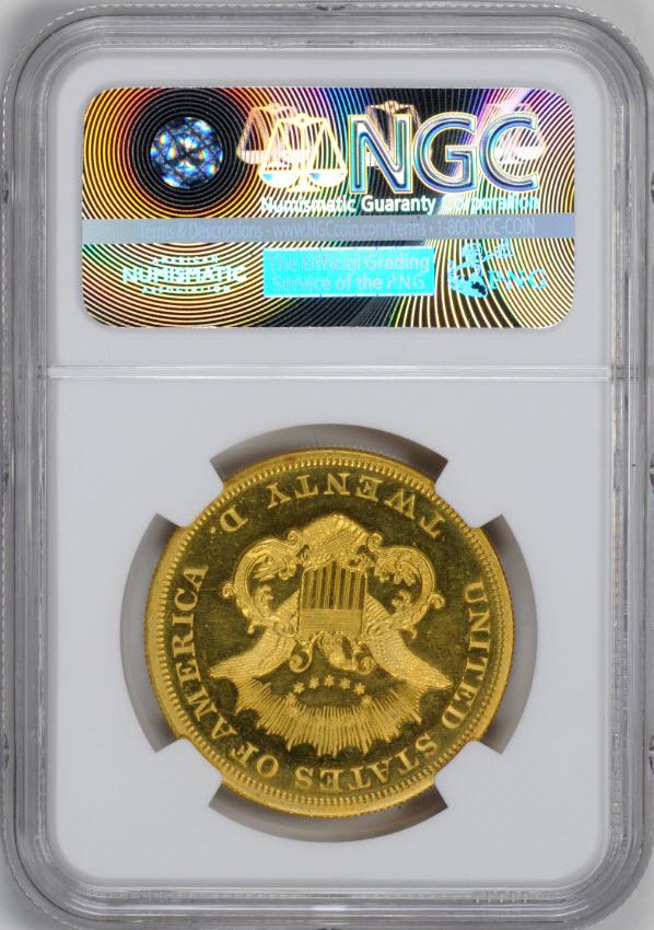 アンティークコイン アメリカ 20ドルプルーフ金貨リバティヘッド1864 $20 Liberty Head Double EaglePF65UCAM NGC