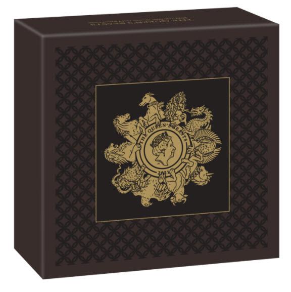 グレートブリテン クイーンズビースト2021年10ビーストコンプリート 100ポンド金貨 NGC-PF70 UCAM ファーストリリース 箱付き
