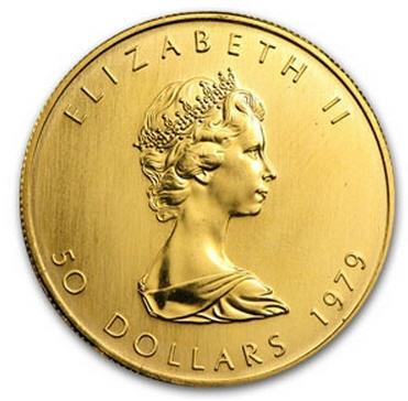 1979メイプルリーフ金貨 1オンス