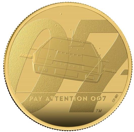 【動画あり】グレートブリテン 2020年 エリザベスII世 1オンス100ポンドプルーフ純金金貨 ジェームズボンド2ndペイアテンション007NGC-PF70UCAMファーストリリース