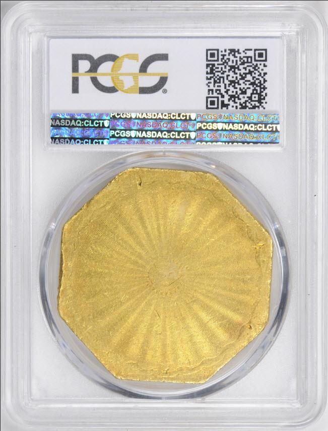 アンティークコイン アメリカ50ドル金貨1851ハンバート880 $50 LE(レタードエッジ)PCGS MS61