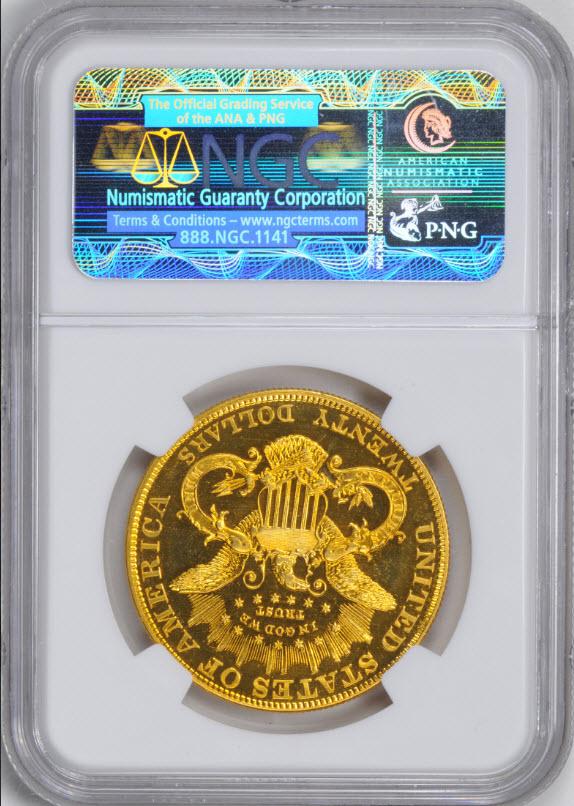 アンティークコイン アメリカ 20ドルプルーフ金貨リバティヘッド1902 $20 Liberty Head Double Eagle PF65+スターNGC