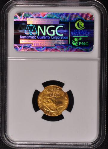 1915-S $2 1/2 PAN-PAC パナマ・パシフィック2.5ドル金貨NGC MS66