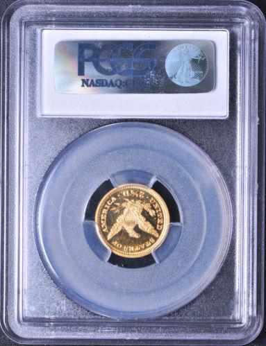 アンティークコイン アメリカ 2.5ドル金貨 1900 LIBERTY $2 1/2 PCGS PR 65 Deep Cameo