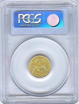 【セール品動画あり】アンティークコイン アメリカ 2.5ドル金貨1835 $2 1/2 Classic Head PCGS AU-53