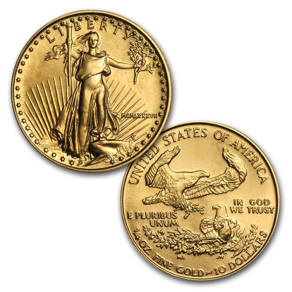 1986-2013年 1/4 oz 10ドルイーグル金貨28 Coin Collection(28枚セット)