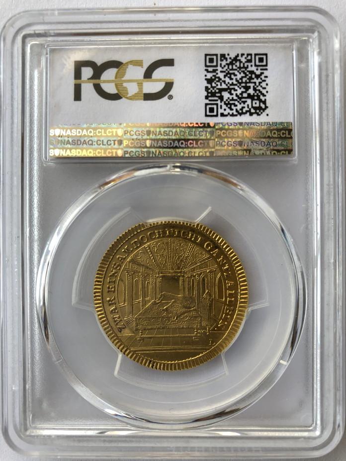 ドイツ レーゲンスブルク2ダガットゴールドメダルPCGS-MS63