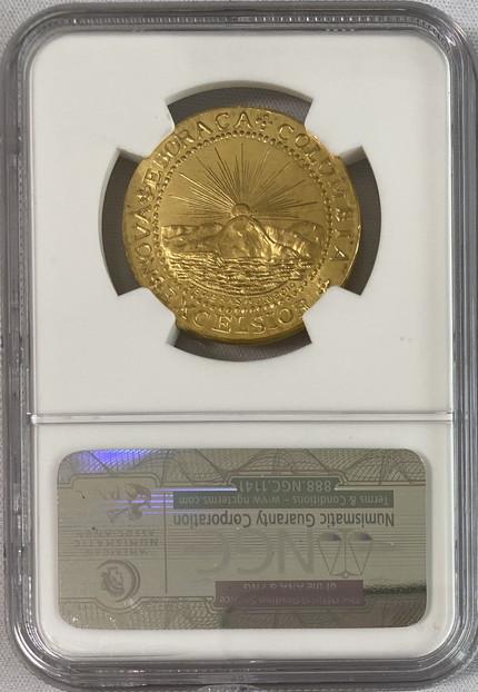 【動画あり】限定発行アメリカプライベート2014年ブラッシャーダブルーン純金金貨121