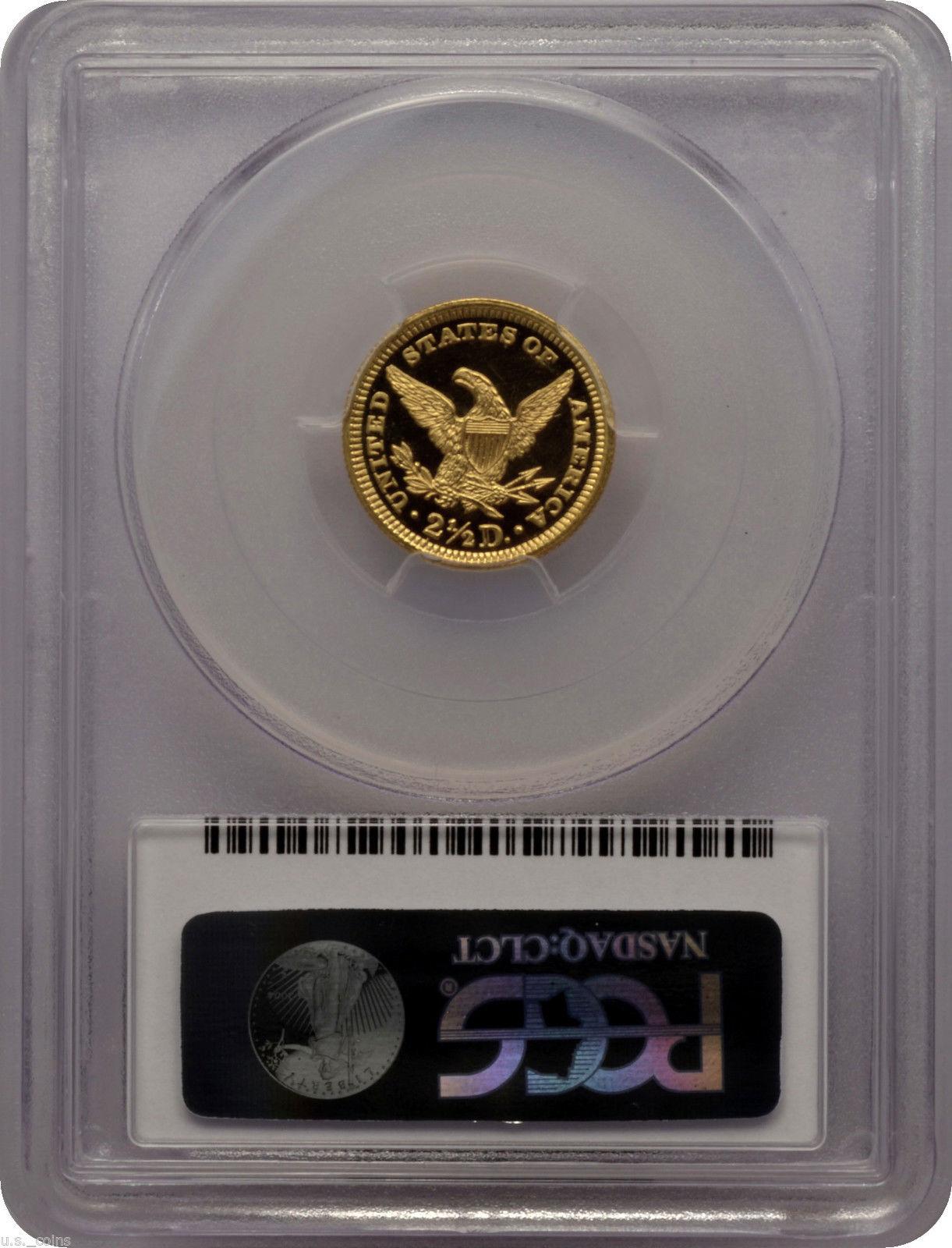 アンティークコイン アメリカ 2.5ドル金貨 1901 $2.50 GOLD LIBERTY HEAD QUARTER EAGLE PCGS PR68DCAM