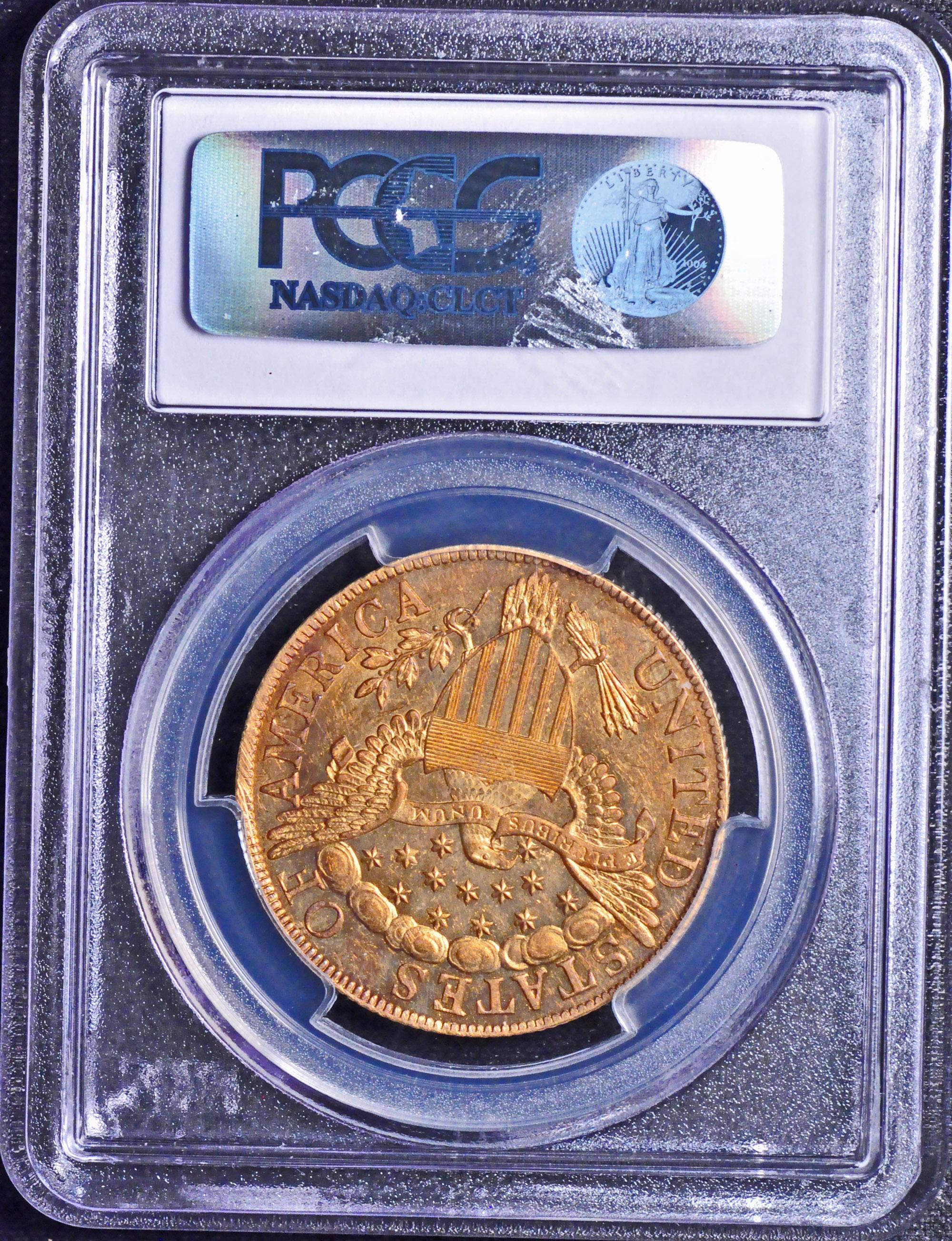 【動画あり】アンティークコイン アメリカ 10ドル金貨ドレープドバスト1801 BUST $10 PCGS MS63