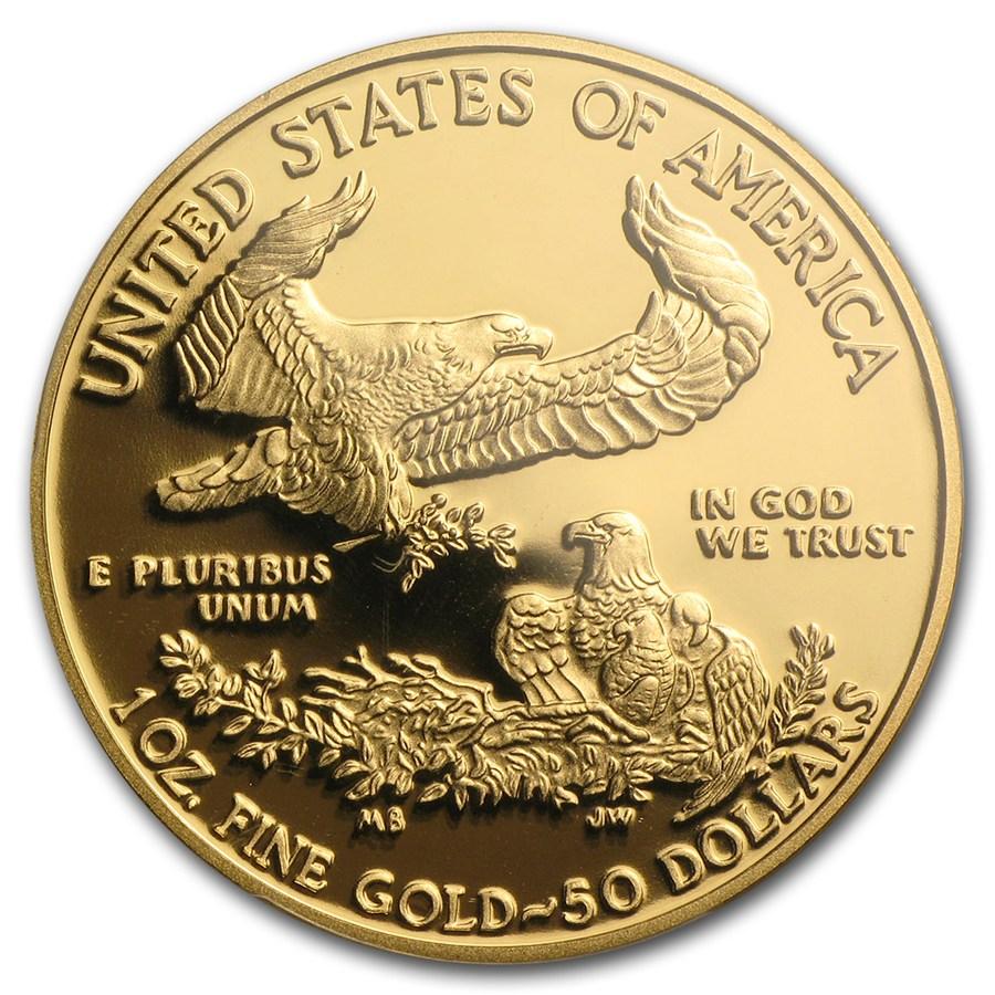 【動画あり】50ドル金貨 ゴールドイーグル 2015W GOLD EAGLE  $50 PCGS PR70DCAM ファーストストライク完全未使用