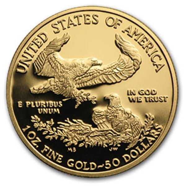 50ドル金貨 2013-W Proof Gold  Eagle 専用ケース付き  完全未使用 売切れ