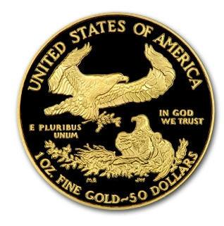 50ドル金貨 2002-W 1 oz Proof Gold American Eagle PR-70 PCGS