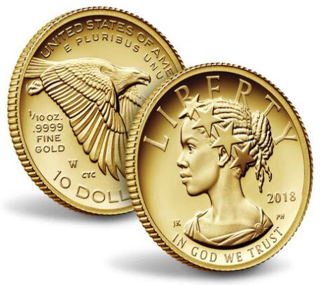 アメリカ10ドル金貨2018-W年アメリカンリバティ・ハイリリーフPCGS-PR70DCAMクリーブランドサイン入り-40226970