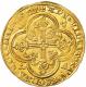 アンティークコイン フランス-フランシュヴァル金貨 (1350-64) ジャンII世 PCGS-AU-58