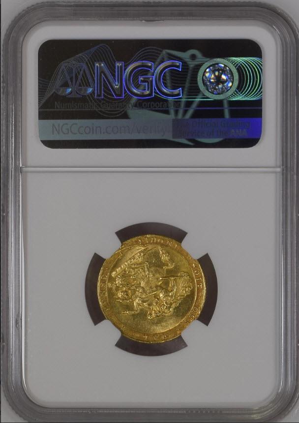 【動画あり】グレートブリテン ジョージ3世 1820年 ソブリン金貨 NGC-MS61