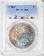 アンティークコイン アメリカ 1ドル モルガン銀貨1890-O $1 PCGS MS66