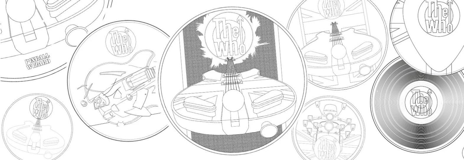 グレートブリテン2021年音楽の伝説シリーズ・ザ・フー1オンス100ポンドプルーフ金貨箱付き