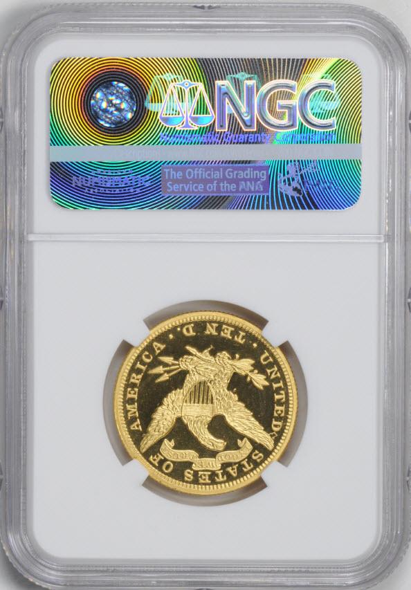 アンティークコイン アメリカ 10ドル金貨リバティヘッド 1890 $10 NGC PF66UCAM