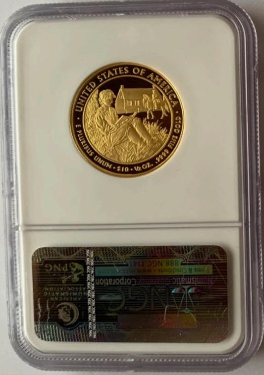2008-W ヴァンビューレン・リバティ10ドル金貨 $10 NGC-PF70UCAM
