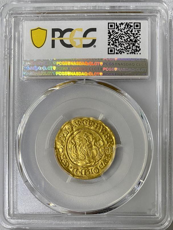 ハンガリー 1599-KB年ルドルフ2世ダカット金貨PCGS-MS62