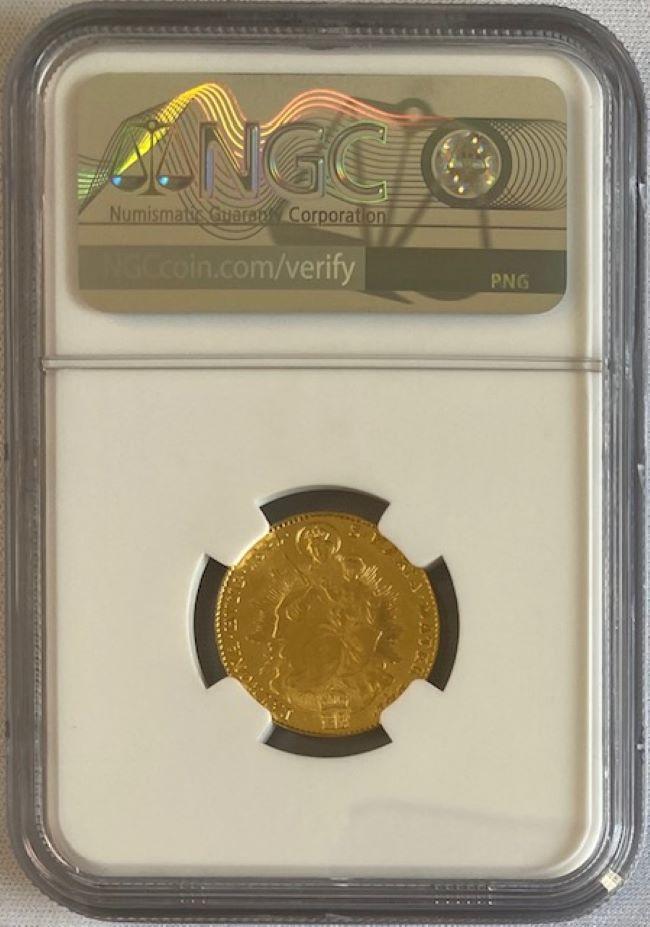 ハンガリー 1841年 フェルディナント5世 1ダカット金貨 NGC-MS62
